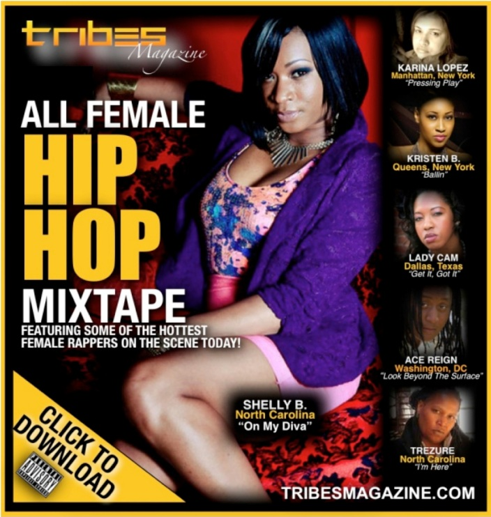 TRIBES MIX TAPE FLIER