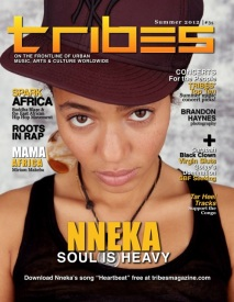 TRIBES Magazine Summer 2012 cover